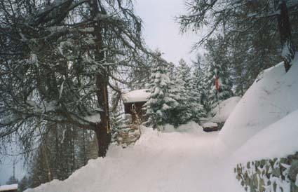 Arrivée en hiver